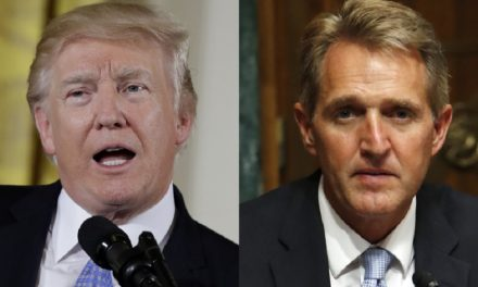 Sen. Jeff Flake says GOP Rallies Look Like 'Spasms Of A Dying Party' , Trump's Behavior 'Inviting' A Republican Primary Challenger