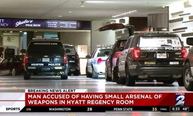 Weapons, Ammo Found in Room of Hyatt Regency Downtown Houston Before NYE