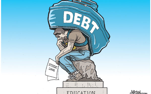 1/3 Of Student Debt To Be Un-repaid In 2023; Set To Hit $3.3 Trillion by 2024