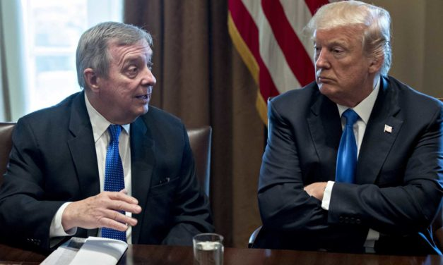 Trumps Nickname For Dick Durbin Is Awesome