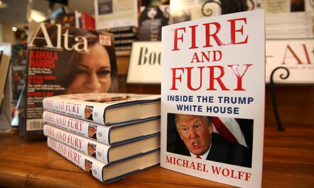 Wolff's Booked 'Fire & Fury' Leaked By Wikileaks LOL