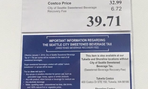 "Seattle ""Sugary Drink"" Tax Is Insane"