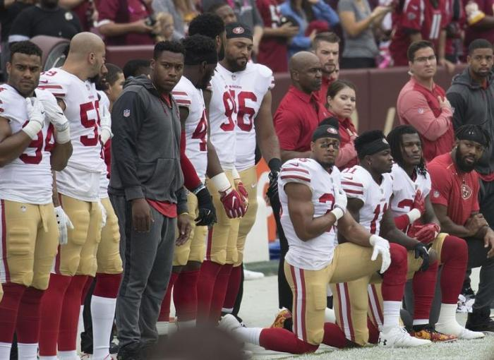 NFL Player Reuben Foster Arrested In Domestic Violence, Weapons Case; Was Apart of Police Protests Earlier
